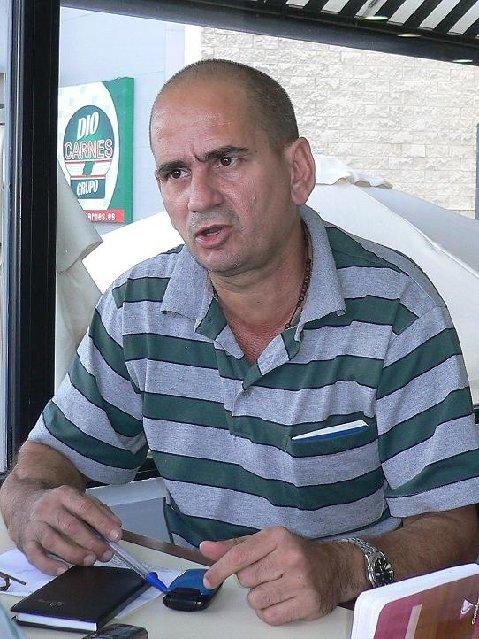 Miguel Galban Gutierrez, Exprisionero de Conciencia del Grupo de los 75. Madrid Septiembre 2010