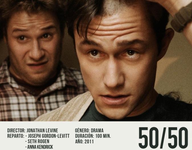 50/50,es una película estadounidense
